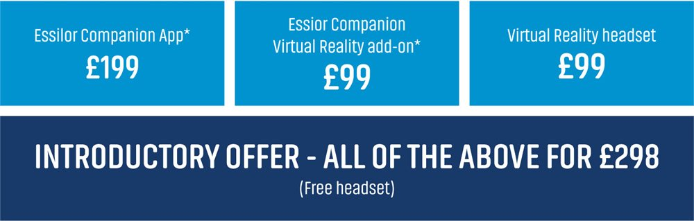 Essilor Companion special offer